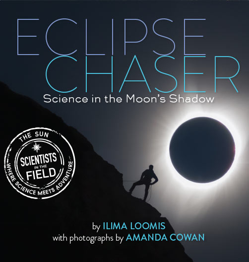 Eclipse Chaser Book Cover Ilima Loomis Books.