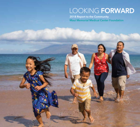 Maui Memorial Medical Center Foundation annual report cover